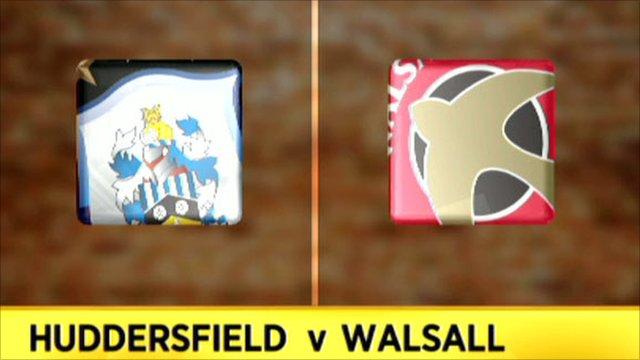 Huddersfield v Walsall