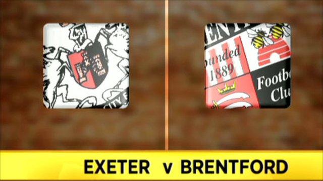 Exter v Brentford