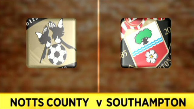 Notts County 1-3 Southampton
