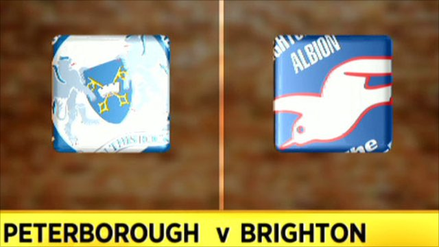 Peterborough 0-3 Brighton