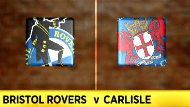 Bristol Rovers 1-1 Carlisle