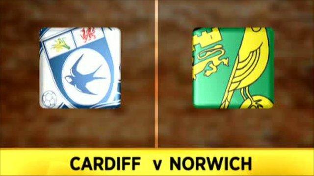 Cardiff 3-0 Norwich