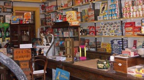 Inside Elliott's Store