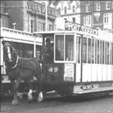 Douglas horse car No 49