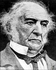 Former Prime Minister William Ewart Gladstone