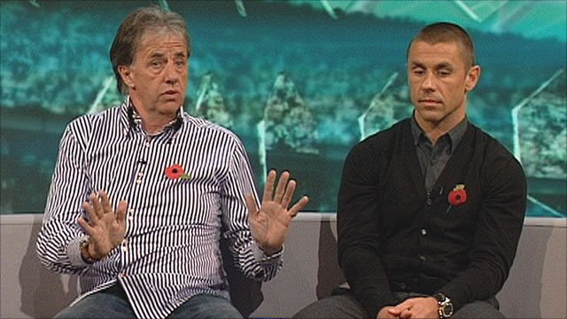 Mark Lawrenson & Kevin Phillips on MOTD2