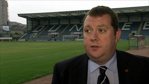 Dundee chief executive Harry MacLean