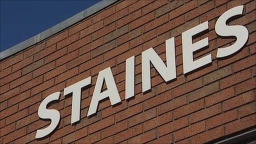 Staines sign