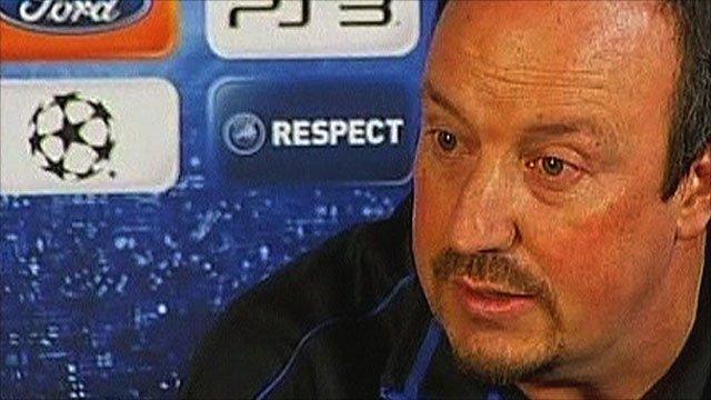 Former Liverpool boss Rafa Benitez