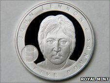 John Lennon coin