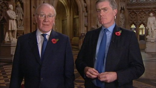 Sir Menzies Campbell and Patrick Mercer MP