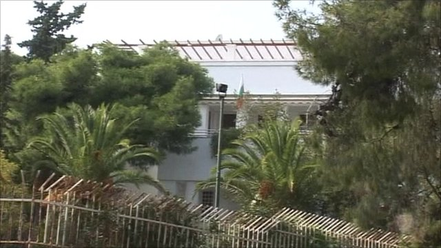 Swiss embassy in Athens