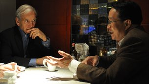 John Humphrys interviews a lawyer