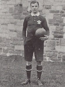 Willie Llewellyn, part of the 1905 Wales rugby team which beat New Zealand