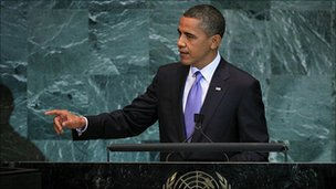 Barack Obama addresses the UN, 23 September 2010