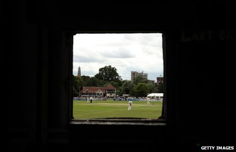 A County Championship game between Essex and Somerset