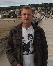 John Hutson in Weston-super-Mare