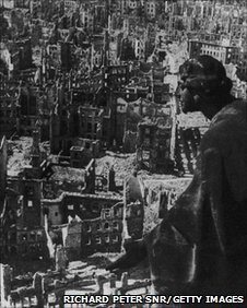 Bombed Dresden