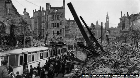 Bbc The Blitz Stories From Coventry 39 S Twin City Of Dresden