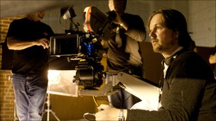 Matt Reeves on the Let Me In set