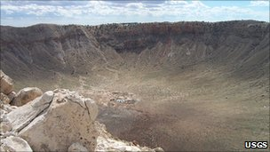Barringer Crater (USGS)