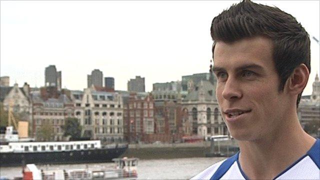 Spurs midfielder Gareth Bale