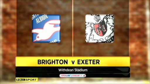 Highlights - Brighton 3-0 Exeter
