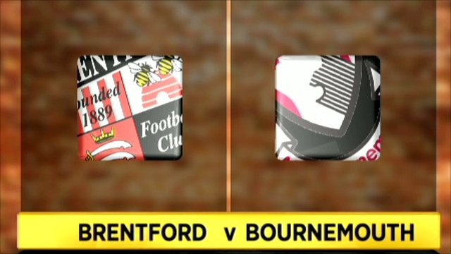Brentford 1-1 Bournemouth