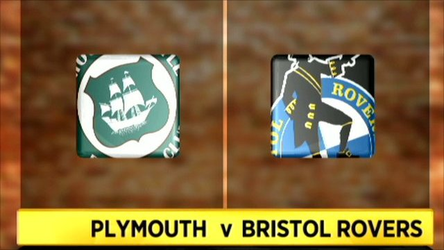 Highlights - Plymouth 3-1 Bristol Rovers