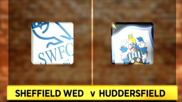 Highlights - Sheff Wed 0-2 Huddersfield