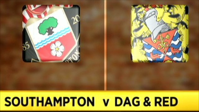 Highlights - Southampton 4-0 Dag & Red
