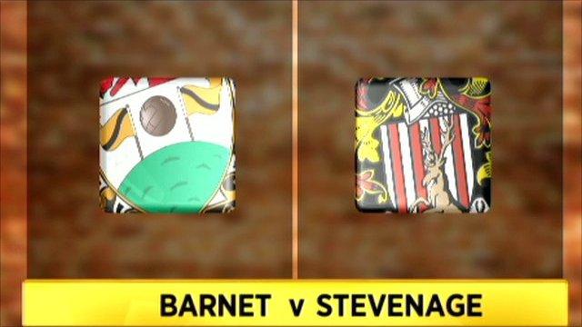 Barnet 0-3 Stevenage