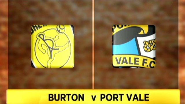 Burton Albion 0-0 Port Vale