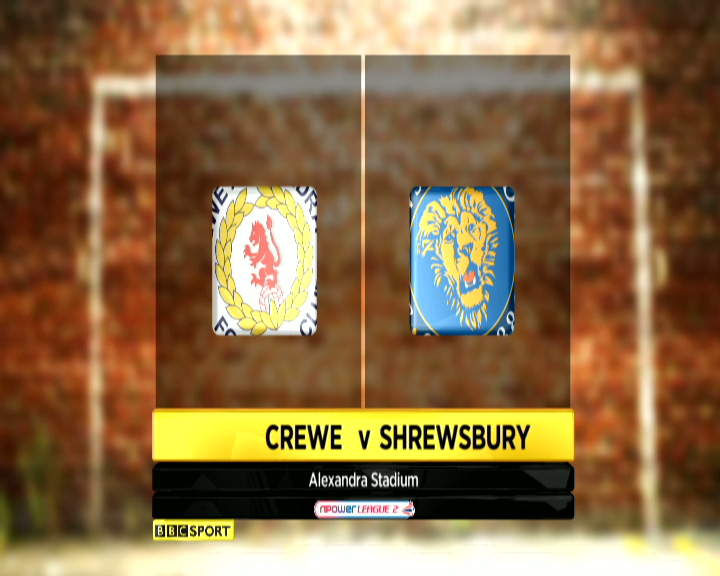 Crewe 1-2 Shrewsbury
