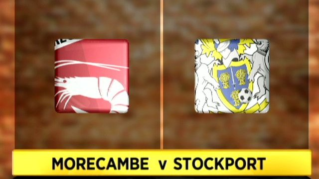 Morecambe 5-0 Stockport County