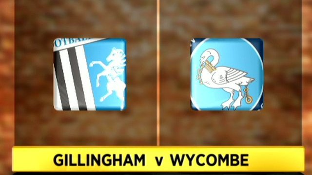 Gillingham 0-2 Wycombe