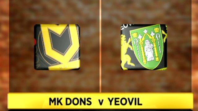 MK Dons 3-2 Yeovil
