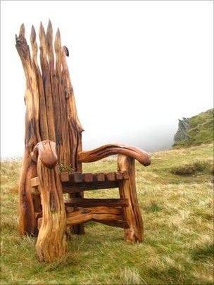 The chair on Cadair Idris