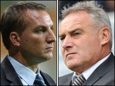 Brendan Rodgers and Dave Jones