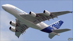 Airbus A380 (file image)