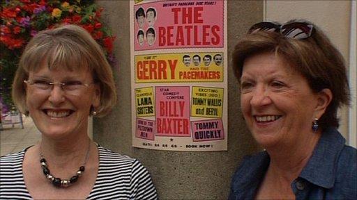 Carol Wear (left) and Sue Hewlett