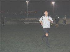 Tipton Town training