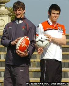 Sam Warburton and Gareth Bale