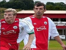 Dave Cook and Lee Shearer (Hythe Town FC)
