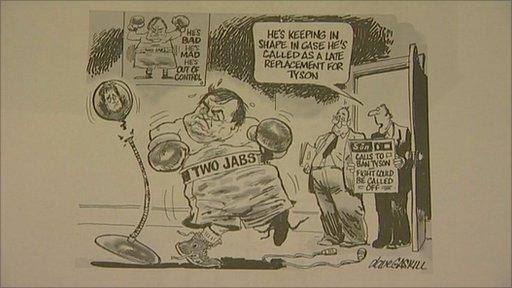 A Dave Gaskill cartoon