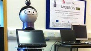 Mobiserv robot
