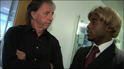 Chad meets Lawro