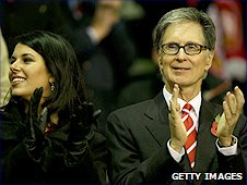 Liverpool owner John Henry and his wife Linda Pizzuti