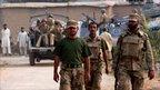 Security forces at Darra Adam Khel
