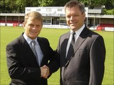 Andy Hessenthaler and Jim Parmenter (DAFC)
